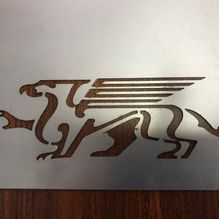 laser steel cutting